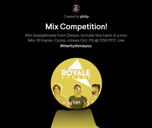 Mix Competition Link